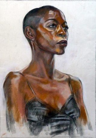 firrst portrait of Fola (713x1024)