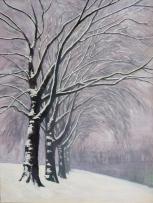 HD snowscene by railway embankment (769x1024)