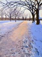 HD snowscene diagonal path (757x1024)