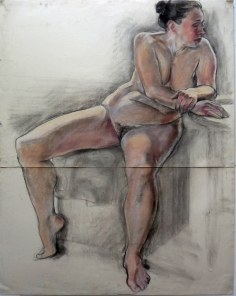 large seated fat nude legs splayed arms to side (816x1024)
