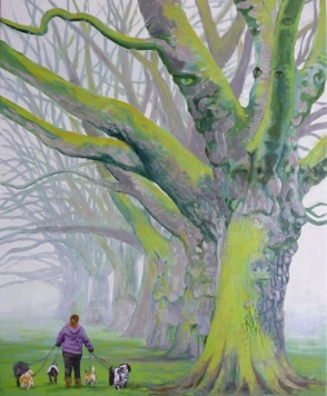 LF line large trees dog walker (844x1024)
