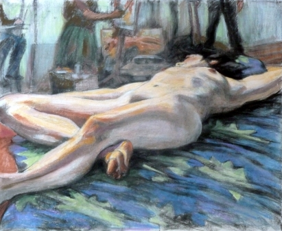 nude lying down artists in background (1024x843)