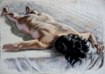 nude lying face down black hair (1024x726)