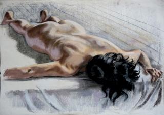 nude lying face down black hair (1024x726)