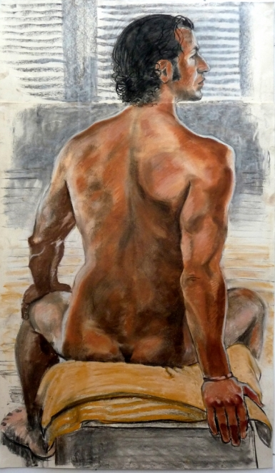 seated male backview hand behind black hair (594x1024)
