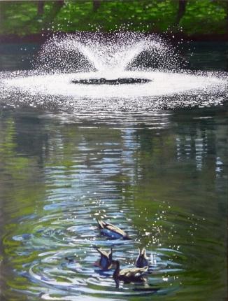 SP pond fountain ducks (776x1024)